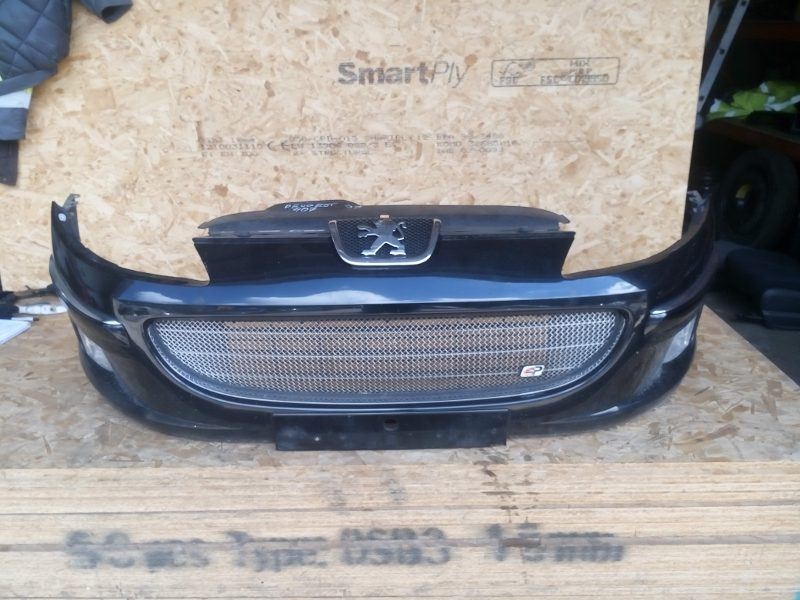 Need A Car Sudbury >> PEUGEOT 407 2.0 HDI 2004-2008 FRONT BUMPER BLACK WITH GRILL AND FOG LIGHTS - Five Star Auto Salvage