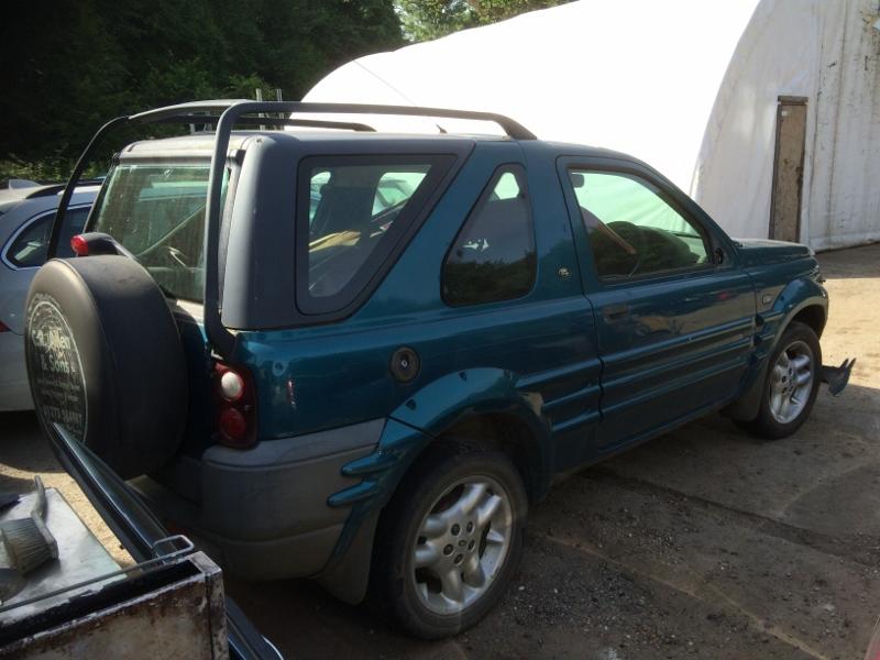 Need A Car Sudbury >> LANDROVER FREELANDER 1.8 3DR MK1 1999 BLUE ROOF RAILS BARS ...