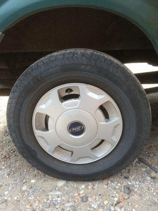Need A Car Sudbury >> FORD TRANSIT MK7 STEEL WHEEL SPARE WHEEL WITH WHEEL TRIM ...