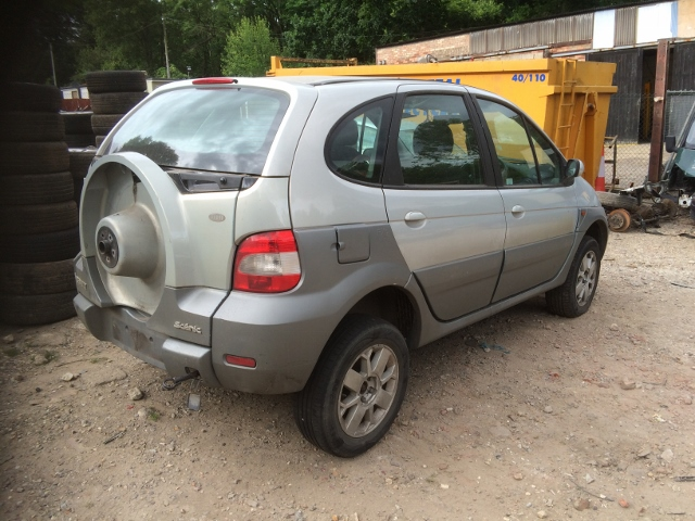 Need A Car Sudbury >> RENAULT SCENIC RX4 FIDJI 1.9 DCI 99-03 SILVER GREY