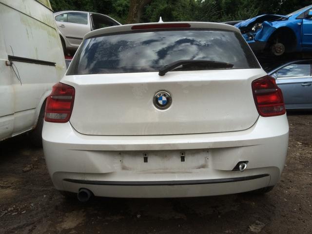 a3a3e8781d500e BMW 1 SERIES F20 2011-2015 PEARL WHITE 3 DOOR COMPLETE REAR BUMPER ...