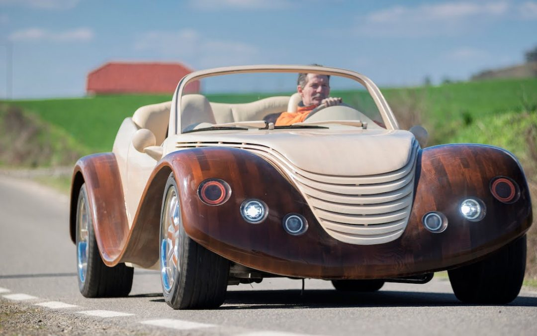Your Next Motor Could Be Made From Wood!