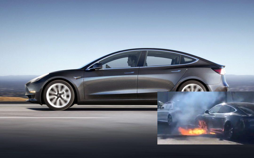 Tesla Car Fires!
